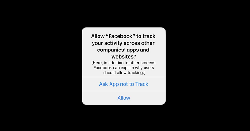 Facebook Tracking on iOS Update