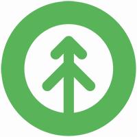 growth-icon-green-white-matte