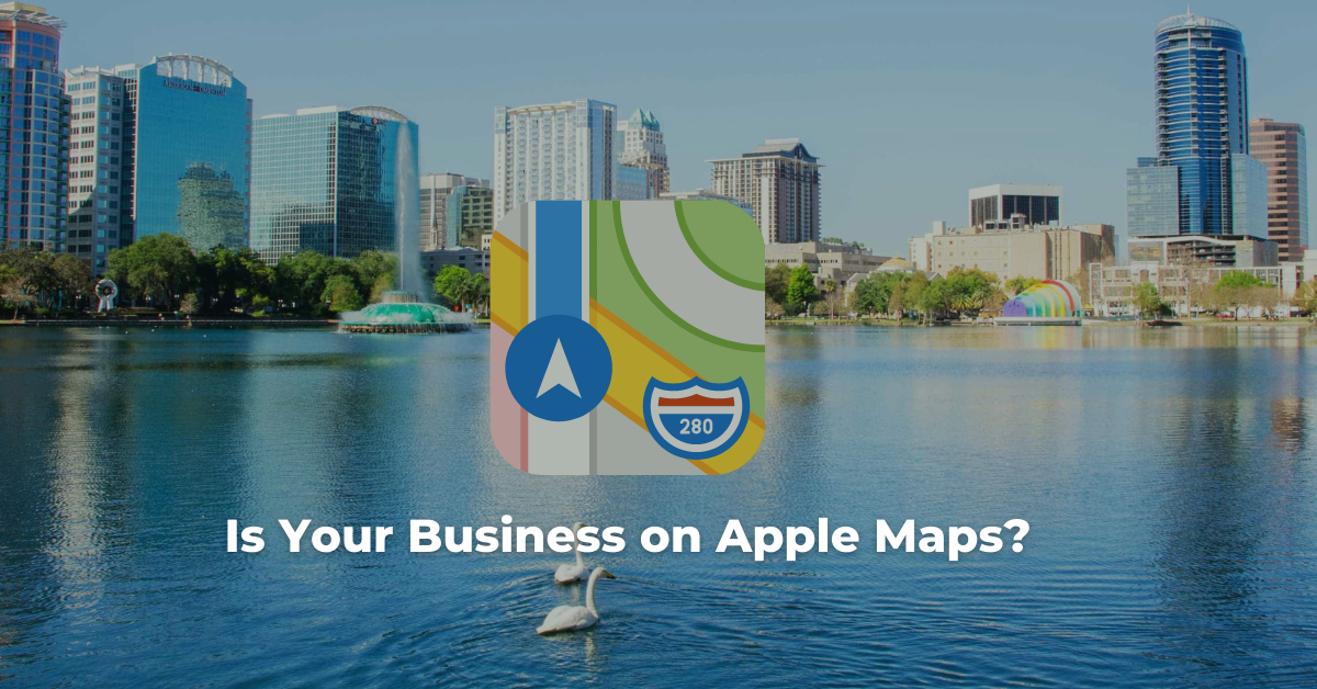Is Your Business on Apple Maps?